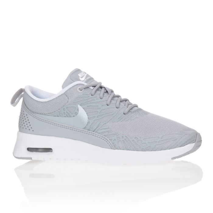 chaussure femme nike grise